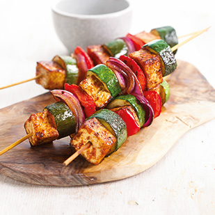 Tofu & Vegetable Skewers